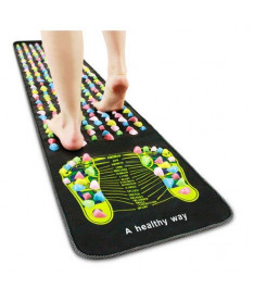 Массажный коврик для ног Qmed