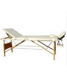 Массажный стол 3-х секционный Relax HY-30110, бежевый