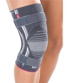 Medi Бандаж коленный с силиконовым пателлярным кольцом и ремнями GENUMEDI PLUS