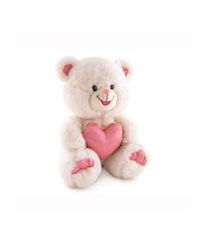 Медведь с блестящим сердцем музыкальный 20 см Lava (LF999)