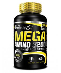 Mega Amino BioTech USA  3200, 100 Tablets