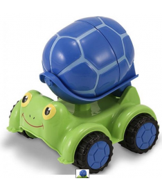 Melissa&ampDoug MD6271 Scootin' Turtle Cement Mixer  Цементовоз Черепашка