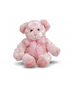 Melissa&ampDoug MD7660 Strawberry Pink Teddy Bear Stuffed Animal (Плюшевый мишка Клубничка, 33 см)