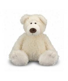 Melissa&ampDoug MD7731 Big Roscoe Vanilla Teddy Bear Stuffed Animal (Большой плюшевый мишка Ванилька, 52 см)