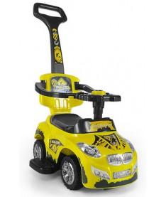 Milly Mally Happy (yellow)  Машинка-каталка