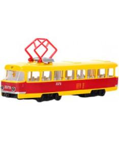 Модель Технопарк Городской трамвай (свет, звук) (CT12-463-2)