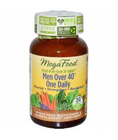 Мультивитамины &quotодна таблетка в день для мужчин после 40&quot MegaFood 30 шт