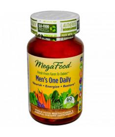 Мультивитамины &quotодна таблетка в день для мужчин&quot MegaFood 60 шт