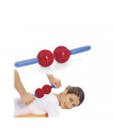 Мячи игольчатые с ручкой Тривес М-402