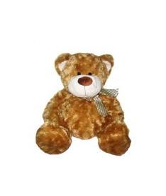 Мягкая игрушка Grand, МЕДВЕДЬ (коричневый, с бантом, 40 см)