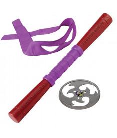 Набор игрушечного звукового оружия TMNT Черепашки-ниндзя Донателло (92102)