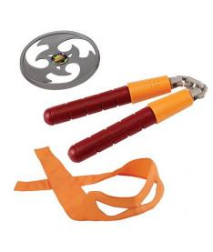 Набор игрушечного звукового оружия TMNT Черепашки-ниндзя Микеланджело (92103)