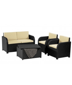 Набор мебели Allibert Modena set серый