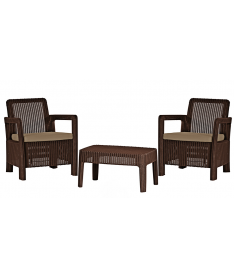 Набор мебели Allibert Tarifa Balcony Set Brown