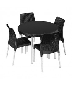 Набор мебели Keter Jersey set серый