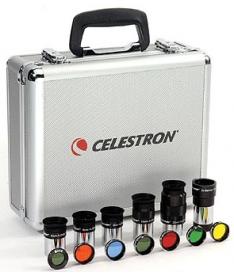 Набор окуляров и фильтров Celestron, 1,25''