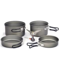 Набор посуды с газовой горелкой Kovea KSK-SOLO3