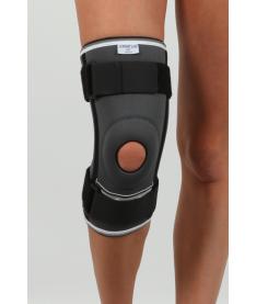 Наколенник неопреновый открытый для поддержки коленной чашечки и связок с дополнительной фиксацией Неасо REF-103