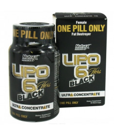 Nutrex Black LIPO 6 Black HERS ULTRA CONCENTRATE