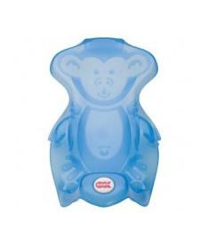OK Bаby Горка Monkey  для купания младенцев голубой