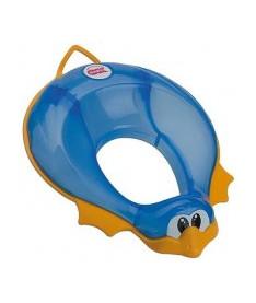 OK Baby Накладка на унитаз Ducka анатомический формы из мягкой резины синий