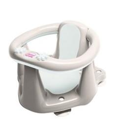 OK Baby Сидение детское Flipper Evolution с нескользящим покрытием и термодатчиком серый