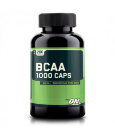 Optimum Nutrition BCAA 1000, 200 кап.