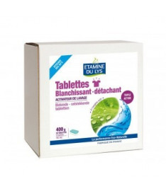 Органические таблетки Etamine Du Lys TABLETTES BLANCHISSANT DETACHANT для удаления пятен и отбеливания, 20шт.