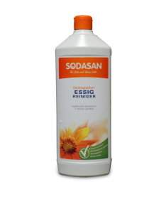 Органическое моющее средство для удаления известкового налета, следов воды и мыла в ванной или кухне Sodasan, 1л
