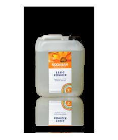 Органическое моющее средство для удаления известкового налета, следов воды и мыла в ванной или кухне Sodasan, 5л