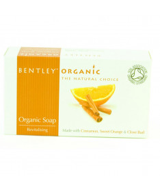 Органическое мыло Оживляющее 150г, Bentley Organic