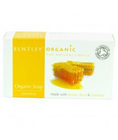 Органическое мыло Сглаживающее 150г, Bentley Organic