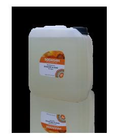 Органическое очищающее средство для ванной комнаты Sodasan, 5л