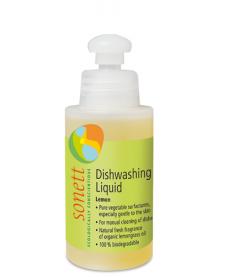 Органическое средство для мытья посуды Sonett GB3074, 120 мл концентрат, лимон