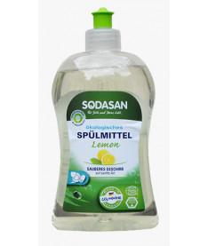 Органическое жидкое средство-концентрат для мытья посуды 0,5 л Sodasan