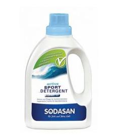 Органическое жидкое средство Sodasan Active Sport для стирки спортивной одежды, 750мл