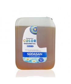 Органическое жидкое средство Sodasan Color д/стирки цветных тканей от 30` со смягчителем воды, 5 л