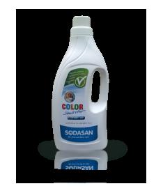 Органическое жидкое средство Sodasan Color-sensitiv для чувствительной кожи и для детского белья, 1,5л