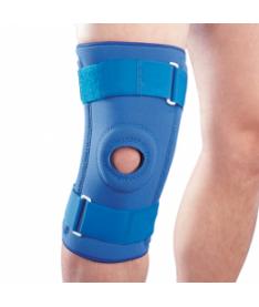 Ортез на коленный сустав неопреновый со спиральными ребрами NS-706 Ortop (Тайвань)