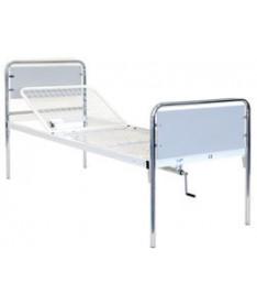 OSD-93C Кровать металлическая с поручнями металлический каркас 2 секции