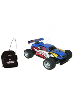 PaulG WILD WOLF (синий, 1:24, USB-зарядка) Автомобиль радиоупр-ый с пультом-перчаткой -