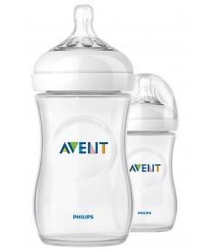 "Philips Avent SCF693/27 Бутылочка для кормления &quotNATURAL"", 260 мл, 2 шт"