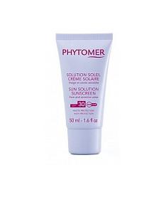Phytomer Protective Sun Cream Sunscreen SPF30 Солнцезащитный крем для лица и чувствительнных зон 50 мл