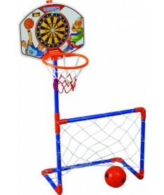 PILSAN Дартс з баскетбольным кольцом+ футбол