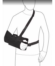 Плечевой ортез с отведением 15` Ottobock Omo Immobil Sling Abduction 50A9