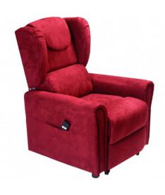 Подъемное кресло с двумя моторами OSD-BERGERE-JP04-1LD красное