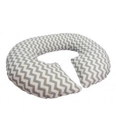 Подушка для беременных KIDIGO Рогалик - Зигзаг (с наволочкой)
