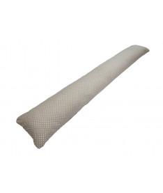 Подушка для беременных прямая Kidigo Горошек (с наволочкой)