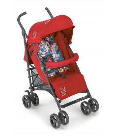 Прогулочная коляска Cam Flip, красный с рисунком