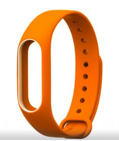 Ремешок для браслета Xiaomi Mi Band 2 Orange ORIGINAL